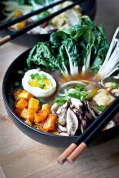 Feasting at Home : Smoked Shiitake Ramen