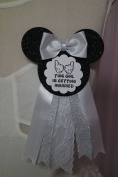 Disney Bridal Shower Decorations, Bride to Be Pin, Bride to Be Corsage, Bridal Shower Corsage, Disney Wedding Bridal Shower Corsages, Bridal Shower Party, Bridal Shower Decorations, Bride Shower, Wedding Decorations, Wedding Art, Dream Wedding, Wedding Ideas, Wedding Things