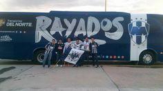 La Afición de #Rayados en San Luis se hace presente #EnLaVidaYEnLaCancha.