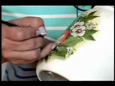 Tv Transamérica - Técnica: Decoupagem em plástico ou vidro com relevo - YouTube