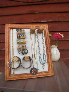 Organize your jewelry.
