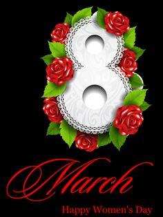 Decent Image Scraps: 8 March Happy Women's Day
