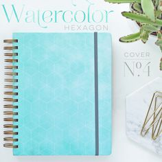 Hard Cover Weekly Planner in Horizontal Layout - inkWELL Press