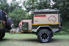 Compact in design the UEV-330 will travel behind the most modified 4wds to extreme destinations.