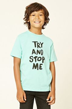 Boys Try And Stop Me Tee (Kids)