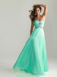 Discount cheap prom evening dresses http://www.aliexpress.com/item/Discount-Aqua-Green-Long-Prom-Dresses-Sweetheart-Beaded-Ruffles-Custom-Corset-Chiffon-Bridesmaid-Dress-Free-Shipping/32230910678.html
