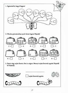 Albumarchívum - Mesés matematika Hush Hush, Worksheets, Bullet Journal, Words, Archive, Learning Activities, Picasa, First Grade, Literacy Centers
