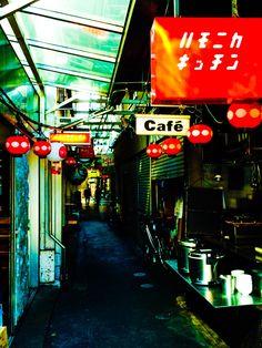 吉祥寺のハーモニカ横丁。Tokyo Kichijyoji harmonica-Yokocho