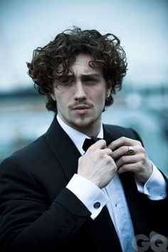 Aaron Taylor-Johnson,was in Kick Ass and assorted other things.