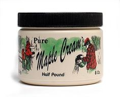 Hey, I found this really awesome Etsy listing at https://www.etsy.com/listing/58112560/pure-vermont-maple-cream-with-free