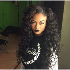 India Westbrooks hair beauty ❤ liked on Polyvore