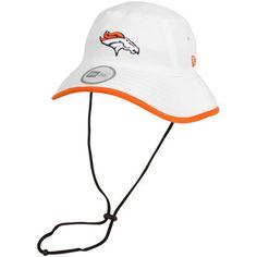 New Era Denver Broncos Training Bucket Hat - White 5561a9916