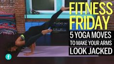 5 Yoga Moves to Make Your Arms Look Jacked:  Whoever said yoga isn't strength training hasn't tried these muscle-building poses.