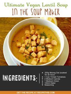 ... Soups on Pinterest | Bone Broth, Butternut Squash Soup and Miso Soup