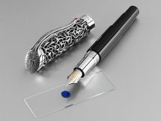 montegrappa pens | Montegrappa Brain Limited Edition Fountain Pen « Iguana Sell