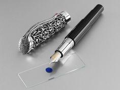 montegrappa pens | Montegrappa Brain Limited Edition Fountain Pen « Iguana Sell