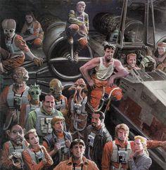 Rogue Squadron Pilots STARWARS