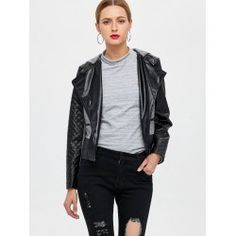 SHARE & Get it FREE | Hooded Panelled Faux Leather JacketFor Fashion Lovers only:80,000+ Items • FREE SHIPPING Join Twinkledeals: Get YOUR $50 NOW!