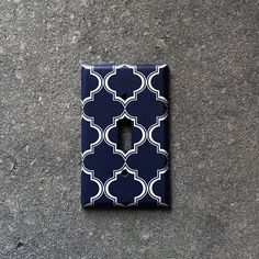 New Navy Blue Light Switch Covers