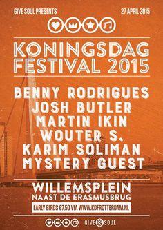 27 April 2015 #givesoul presents #Koningsdag #Kingsday #willemsplein #rotterdam #erasmusbrug