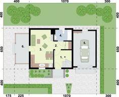 Projekt ORLEAN 5 dom letniskowy z poddaszem :: PRO-ARTE.pl House Plans, Floor Plans, How To Plan, Architecture, Design, House 2, Homes, House, Arquitetura