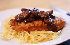 Chicken and Mushrooms with Balsamic Vinegar