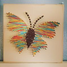 Butterfly string art                                                                                                                                                      More