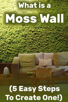 What Is a Moss Wall (And You Can Create One in 5 Easy Steps) - Vertical Garden What Is Vertical Farming? - Vertical Garden Article by VerticalGar Vertical Garden Wall, Vertical Farming, Garden Wall Art, Vertical Bar, Moss Wall Art, Moss Art, Outdoor Wall Art, Outdoor Walls, Outdoor Areas