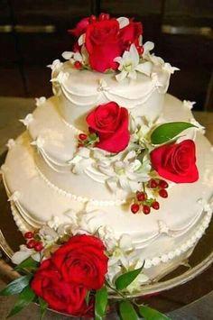 Elegant Wedding Cakes Amazing White