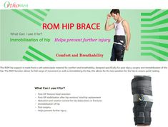 Hip Dislocation, Plantar Fasciitis Night Splint, Hip Brace, Hinged Knee Brace, Hip Pain Relief, Hip Dysplasia, Hip Replacement, Medical Prescription, Braces