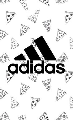 Adidas and pizza wallpaper - Adidas Backgrounds, Cute Backgrounds, Cute Wallpapers, Wallpaper Backgrounds, Iphone Wallpaper, Wallpaper Free, Nike Wallpaper, Tumblr Wallpaper, Shoes Wallpaper