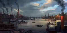 Thames River - Characters & Art - Assassin's Creed Syndicate