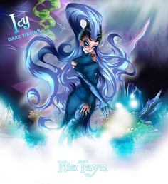 Magic on the bottom of the sea (Icy Dark SireniX) by NiaTayn.deviantart.com on @deviantART