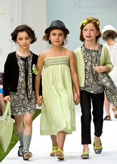 ランウェイの主役は子どもたち!ボンポワン2014年春夏コレクション、愛らしいステージが観客を魅了の写真19