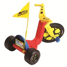 """Original 16 inch Big Wheel Racer with Flag - Boys - Red - Kids Only - Toys """"R"""" Us"""