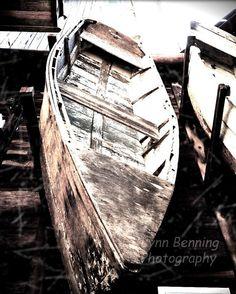 OLD BOAT by LBENNINGPHOTO on Etsy, $25.00