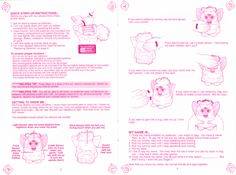 toy manual furby instruction - Google Search