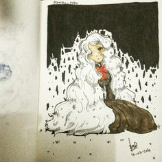Left alone 😢   Old illustration by me