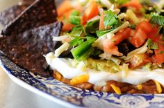 The Pioneer Woman's Mexican 7 layer dip
