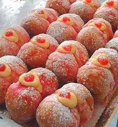 Lemon and lemon curd shortbread - HQ Recipes Italian Cookies, Italian Desserts, Mini Desserts, Sweet Desserts, Italian Recipes, Delicious Desserts, Lemon Recipes, Sweet Recipes, Baking Recipes