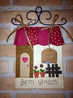 . Small Quilts, Mini Quilts, Panel Quilts, Quilt Blocks, Applique Quilts, Embroidery Applique, House Keyring, Diy Y Manualidades, Fidget Quilt