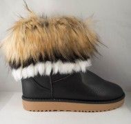 Cizme Negre tip UGG Pufy 2016 - Incaltaminte Online Ugg Boots, Uggs, Shoes, Fashion, Moda, Zapatos, Shoes Outlet, Fashion Styles, Shoe