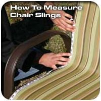 How to Measure Patio Chair Slings