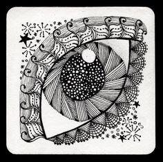 arco de plástica: Garabatos con mucho arte: el arte ZENTANGLE