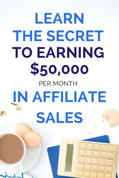 Wanna earn $50,000 each month from affiliate income like Michelle does? Her secrets revealed.