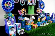 Las tortas más creativas de Fortnite - Todo Bonito 6th Birthday Parties, 11th Birthday, Birthday Diy, Party Kit, Llamas, Cake, Girls, Birthday Party Photography, Man Party
