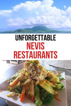 When you visit the beautiful island of Nevis in the Caribbean you will also discover a variety of local delicious restaurants too. #NevisNaturally #NevisRestaurants