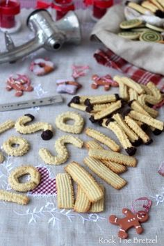 Alsace - Lorraine Archives - Rock the Bretzel Shortbread, Rock The Bretzel, Biscuits, Biscuit Cookies, Kakao, Alsace, Christmas Baking, Gingerbread Cookies, Tea Time