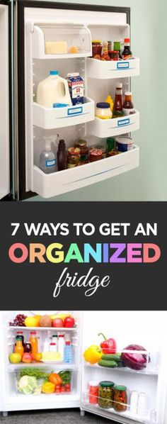 Organized fridge, how to organize your fridge, home organization hacks, popular pin, cleaning, clean home, easy organization.