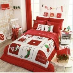 christmas bedding - Google Search